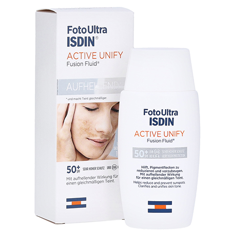 Isdin Fotoultra Active Unify Fusion Fluid 50 Milliliter
