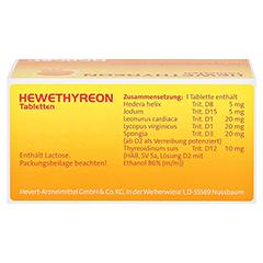 HEWETHYREON Tabletten 100 Stück N1 - Oberseite