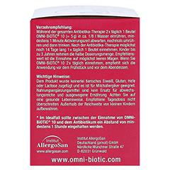 OMNi BiOTiC 10 Pulver Portionsbeutel 30x5 Gramm - Rechte Seite