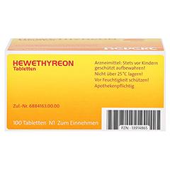 HEWETHYREON Tabletten 100 Stück N1 - Unterseite