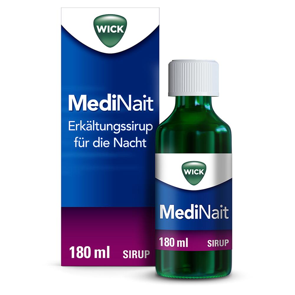 Erfahrungen zu WICK MediNait Erkältungssirup für die Nacht