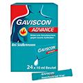 Gaviscon Advance Pfefferminz Dosierbeutel 24x10 Milliliter N2