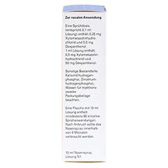 XyloDuo-ratiopharm Kinder 0,5mg/ml+50mg/ml 10 Milliliter N1 - Rechte Seite