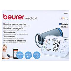 BEURER BM57 Bluetooth Oberarm Blutdruckmessgerät 1 Stück - Vorderseite