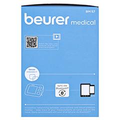 BEURER BM57 Bluetooth Oberarm Blutdruckmessgerät 1 Stück - Linke Seite