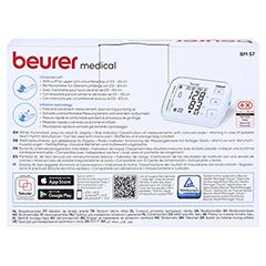 BEURER BM57 Bluetooth Oberarm Blutdruckmessgerät 1 Stück - Rückseite