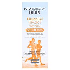 ISDIN Fotoprotector Fusion Gel Sport SPF 50 100 Milliliter - Vorderseite