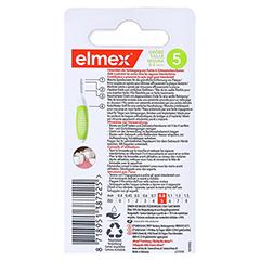 ELMEX Interdentalbürsten ISO Gr.5 0,8 mm grün 8 Stück - Rückseite
