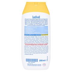 Ladival Allergische Haut Gel LSF 50+ + gratis Ladival Empfindliche Haut Apres Lotion 200 ml 200 Milliliter - Rückseite