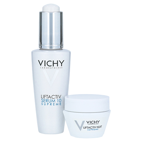 Vichy LIFTACTIV SUPREME Serum 10 Konzentrat + gratis VICHY LIFTACTIV Nachtcreme 15 ml 30 Milliliter