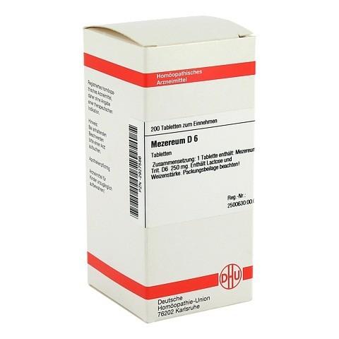 MEZEREUM D 6 Tabletten 200 Stück N2