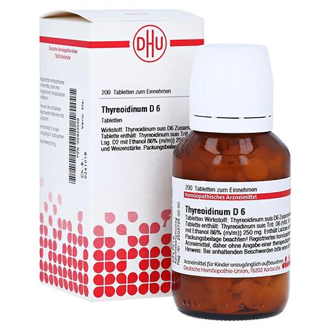 THYREOIDINUM D 6 Tabletten 200 St�ck N2