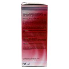 LOMAVITAL Eisen+Zink fl�ssig 250 Milliliter - Linke Seite