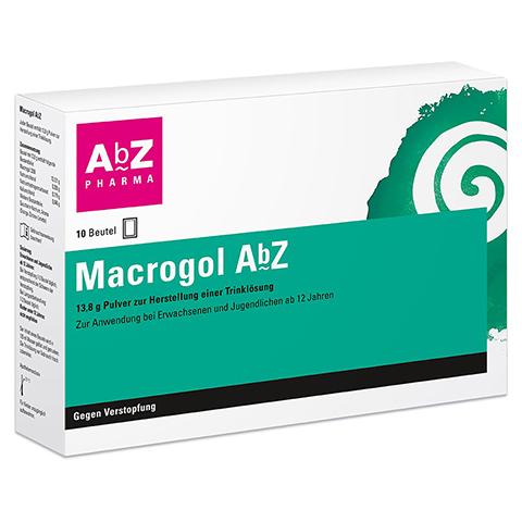 MACROGOL AbZ Plv.z.Her.e.Lsg.z.Einnehmen 10 Stück