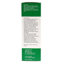 HEALTHY NATURE Anti-Schuppen L�sung 200 Milliliter - Rechte Seite
