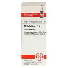 MILLEFOLIUM D 4 Globuli 10 Gramm N1 - Vorderseite