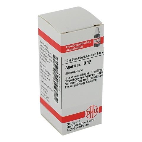 AGARICUS D 12 Globuli 10 Gramm N1