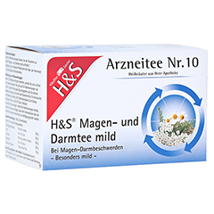 H&S Magen- und Darmtee mild 20 Stück