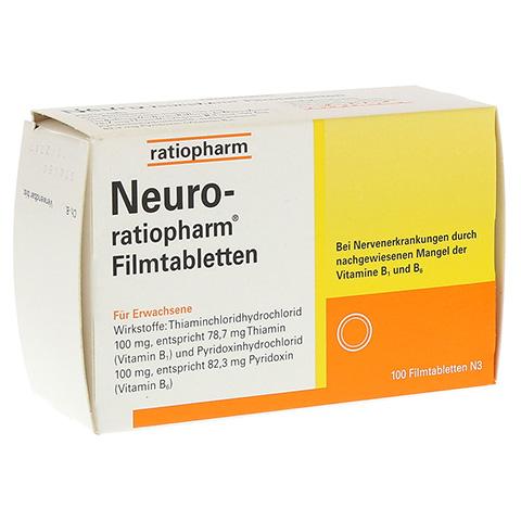 NEURO RATIOPHARM Filmtabletten 100 Stück N3