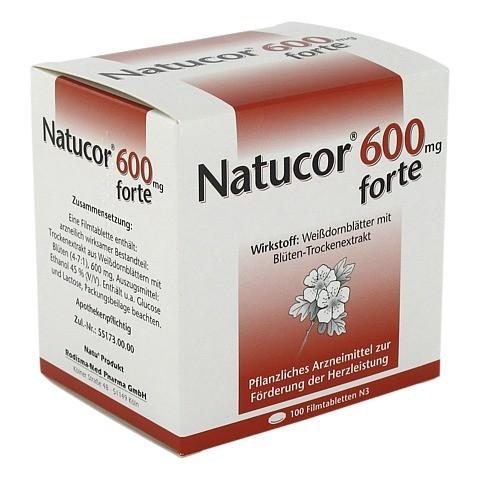 Natucor 600mg forte 100 Stück N3