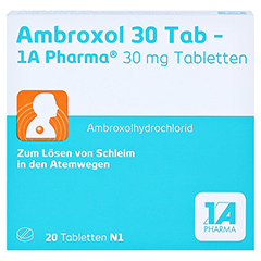 Ambroxol 30 Tab-1A Pharma 20 Stück N1 - Vorderseite