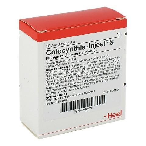 COLOCYNTHIS INJEEL S Ampullen 10 Stück N1