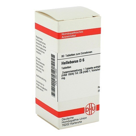 HELLEBORUS D 6 Tabletten 80 St�ck N1