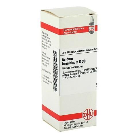 ACIDUM FORMICICUM D 30 Dilution 20 Milliliter N1