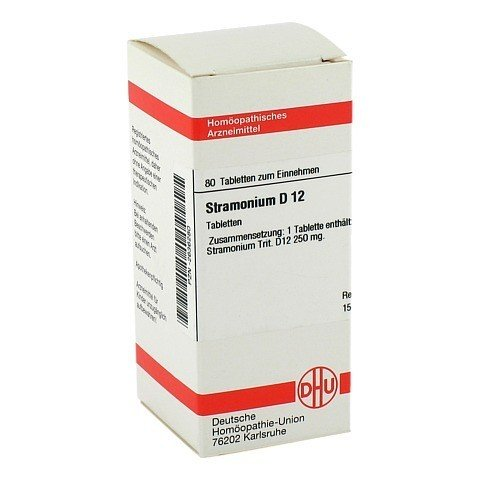 STRAMONIUM D 12 Tabletten 80 St�ck N1