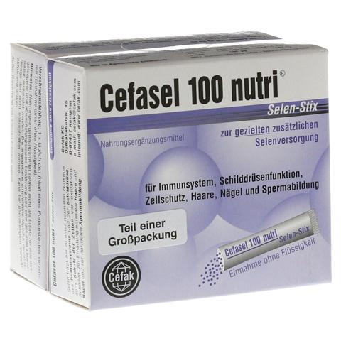 CEFASEL 100 nutri Selen Stix Pellets 40 Stück