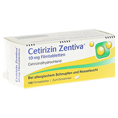 Cetirizin Zentiva 10mg 100 St�ck N3