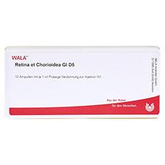 RETINA ET CHORIOIDEA GL D 5 Ampullen 10x1 Milliliter N1 - Vorderseite