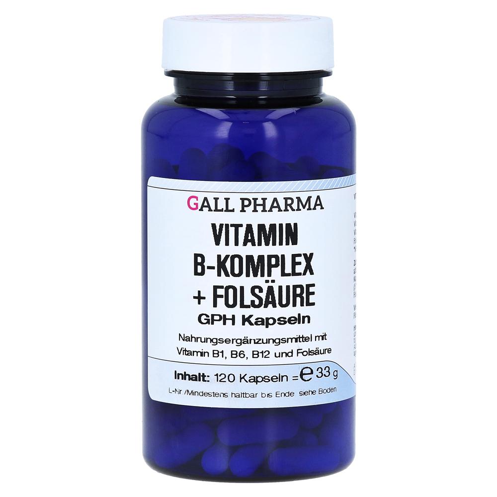erfahrungen zu vitamin b komplex fols ure gph kapseln 120. Black Bedroom Furniture Sets. Home Design Ideas