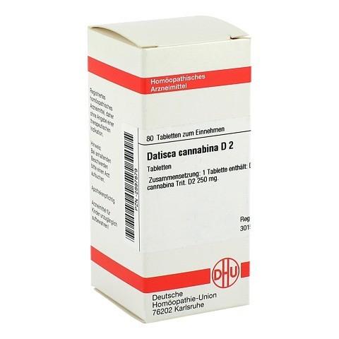 DATISCA cannabina D 2 Tabletten 80 St�ck N1
