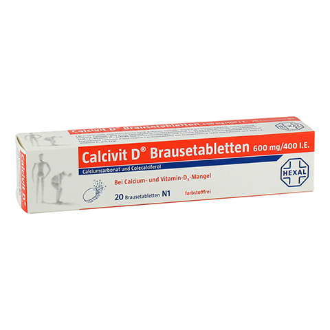 Calcivit D 600mg/400I.E. 20 Stück N1