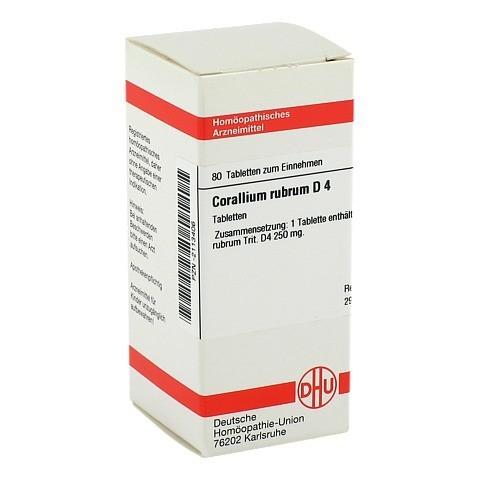 CORALLIUM RUBRUM D 4 Tabletten 80 Stück N1