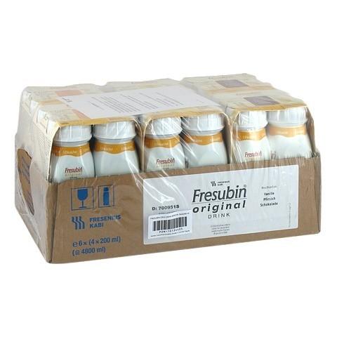 FRESUBIN ORIGINAL DRINK Mischkarton Trinkfl.CPC 24x200 Milliliter