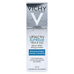 VICHY LIFTACTIV Serum 10 Augen & Wimpern Creme 15 Milliliter - Rückseite