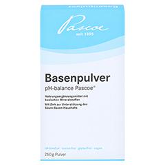 BASENPULVER Pascoe 260 Gramm - Vorderseite