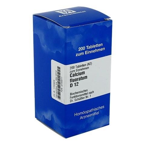 BIOCHEMIE 1 Calcium fluoratum D 12 Tabletten 200 Stück N2