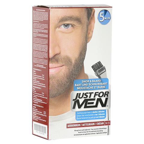 JUST for men Brush in Color Gel mittelbraun 28.4 Milliliter