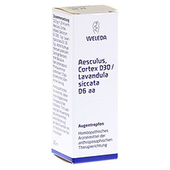 AESCULUS CORTEX D 30/Lavandula D 6 aa Augentropfen 10 Milliliter N1