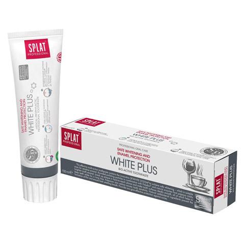 SPLAT Professional White Plus Zahncreme 100 Milliliter