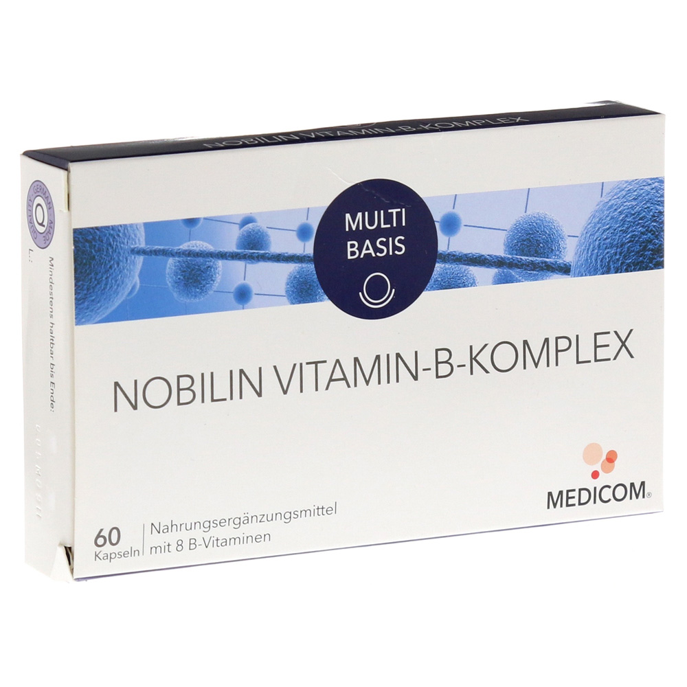 nobilin vitamin b komplex kapseln 60 st ck online. Black Bedroom Furniture Sets. Home Design Ideas