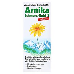 APOTHEKER Dr.Imhoff's Arnika Schmerz-fluid S 200 Milliliter - Vorderseite