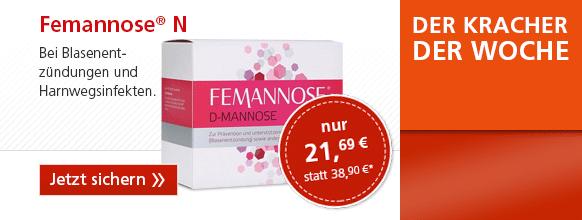 FEMANNOSE N Granulat + gratis taxofit Soft Chews