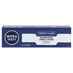 NIVEA MEN Rasiercreme mild 100 Milliliter - Vorderseite