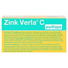 Zink Verla C purKaps 60 Stück - Unterseite