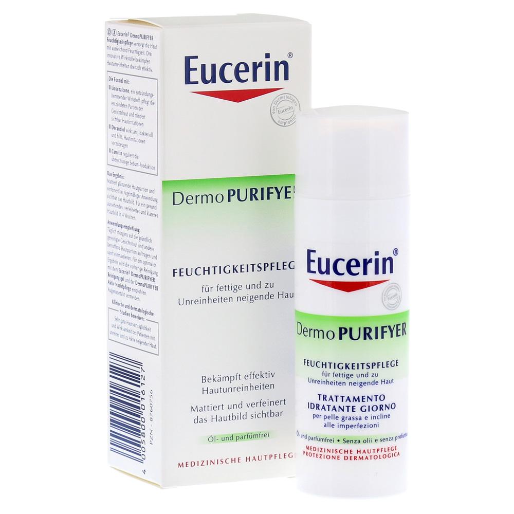 Erfahrungen zu EUCERIN DermoPURIFYER Feuchtigkeitspflege
