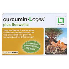 curcumin-Loges plus Boswellia 60 Stück - Vorderseite